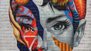 image description. street art as visual content